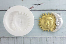 Silicone Mould Sun & Moon, Night & day, Mystic  Ellam Sugarcraft M072