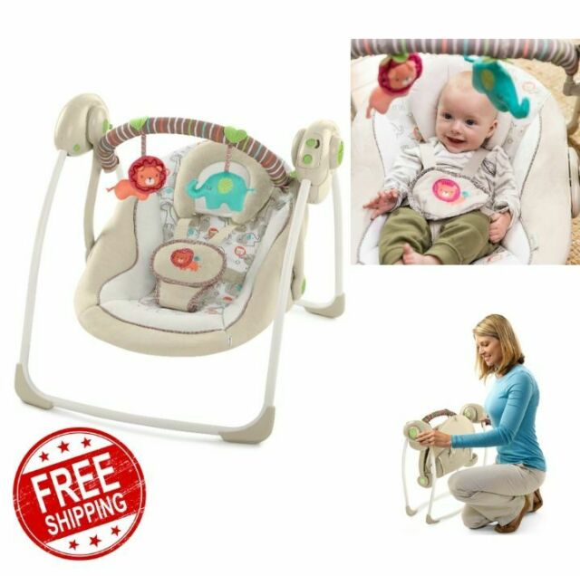 Graco DuetConnect LX Swing Bouncer Baby Infant Toddler Portable Musical Child