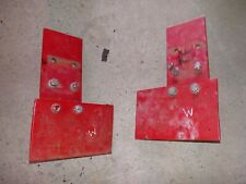 Farmall M H Rowcrop Ih Tractor Fender Plate Extensions