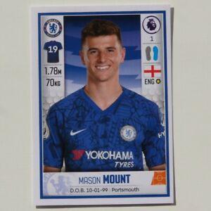 Mason-Mount-PANINI-FOOTBALL-2019-2020-Premier-League-Rookie-Sticker-183-Chelsea