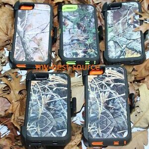 For-Apple-iPhone-5-5S-SE-Case-Camouflage-Realtree-Clip-Fits-Otterbox-Defender