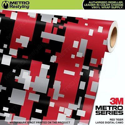DIGITAL YELLOW TIGER Camouflage Vinyl Car Wrap Camo Film Sheet Roll Adhesive