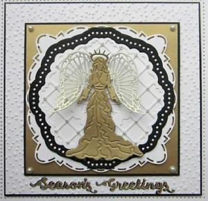 Chritmas-Wishes-Peace-Angel-Doddess-Metal-Cutting-Dies-DIY-Craft-Album-Stencil