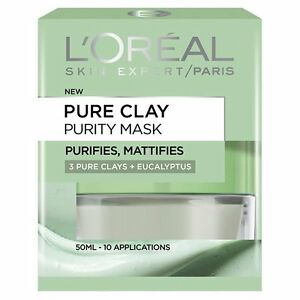 loreal pure clay mask sverige