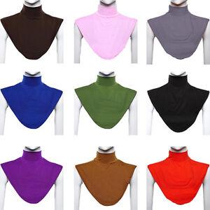 Image Is Loading Muslim Moslem Hijab Islamic Turtleneck Neck Cover Dickey