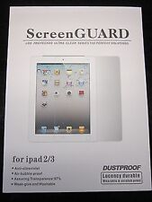 """Top Quality 8"""" Android Tablet PC Screen Guard Cover Protection Protector+Cloth"""