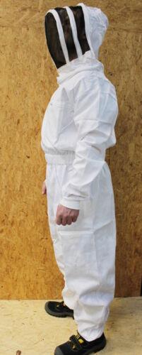 Imkeranzug mit Kopffreiheit Premium Imkerschutzanzug 100/% Baumwolle