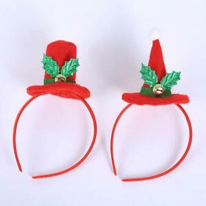 Christmas Headband Craft.Details About Christmas Decor Fashion Headband Hat Xmas Hair Band Head Hoop Headwear 2019 Uk