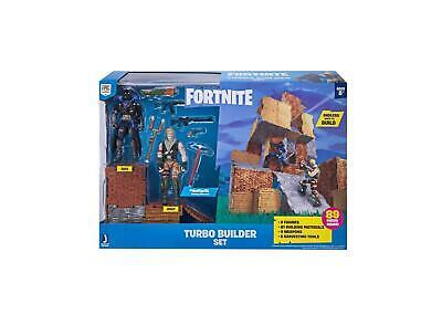 Action Figures Fortnite Turbo Builder Set 2 Homme PACK Jeux NEUF