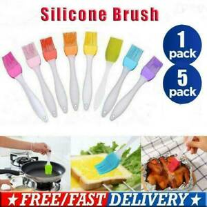 Baking BBQ Basting BRUSH Bakeware Pastry Bread Oil Cream Cooking Tool Silicone