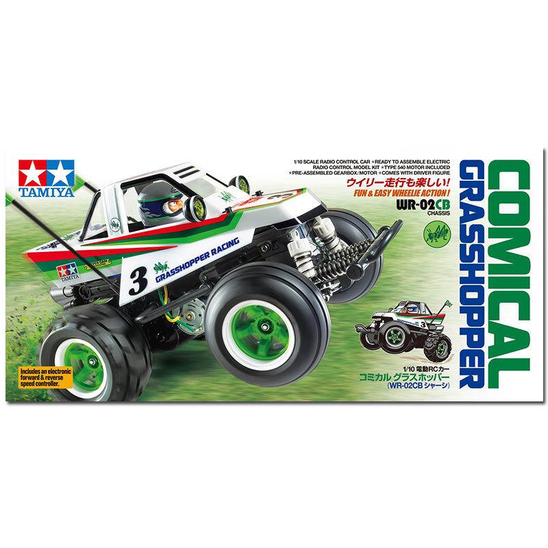TAMIYA RC 58662 Comical Grasshopper (WR-02CB) 1 10 Assembly Kit