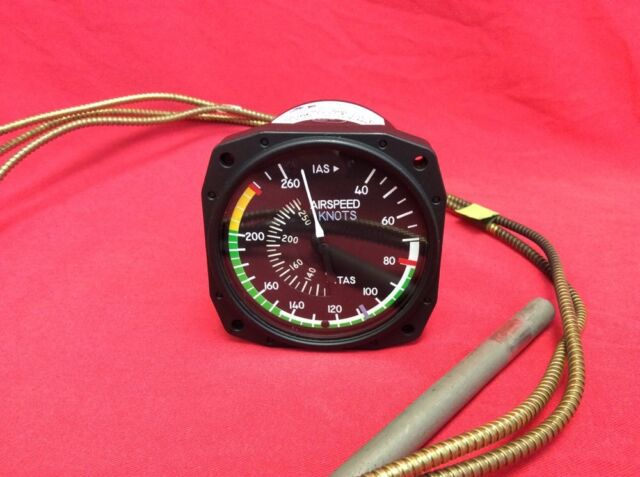 True Airspeed Indicator P/n C661045-0309 From Cessna 310 in Working Order