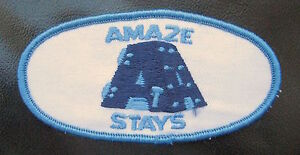 AMAZE-STAYS-EMBROIDERED-SEW-ON-PATCH-COMPANY-BUSINESS-ADVERTISING-4-034-x-2-034