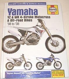 haynes manual yamaha yz wr yz250 yz400 yz426 yz450 wr250 wr400 wr426 rh ebay co uk 2001 Yamaha WR 400 Yamaha WR 250