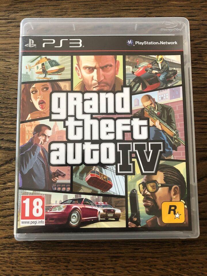 Grand theft auto IV, PS3
