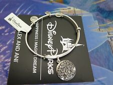 Disney Alex and Ani Animal Kingdom Silver Bracelet Tree of Life New Design Parks
