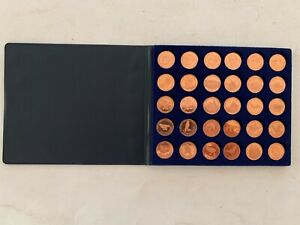 30-Medaillen-Kupfer-Bundeskanzler-Rettet-unsere-Voegel-Militaria