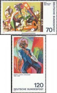 BRD-BR-Deutschland-822-823-kompl-Ausgabe-gestempelt-1974-Expressionismus
