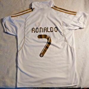 Cristiano Ronaldo  7 11 12 Real Madrid Home Shirt Jersey Short ... 065b447f5
