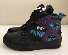ef0ab03567b8 item 8 Reebok Pump Blacktop Battleground Hi Top Black Purple Sz 7  Women s  Sz 8.5 NEW!! -Reebok Pump Blacktop Battleground Hi Top Black Purple Sz 7   Women s ...