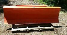 Kubota Orange Tractor B2673 Snow Blade Sn21614923 Attachment Used