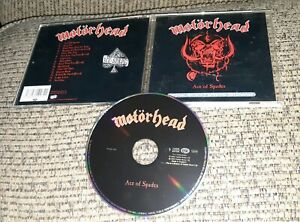 MOTORHEAD-Ace-Of-Spades-CD-EUROPE-Castle-Pie-PIESD-003-IMPORT-greatest-hits-OOP