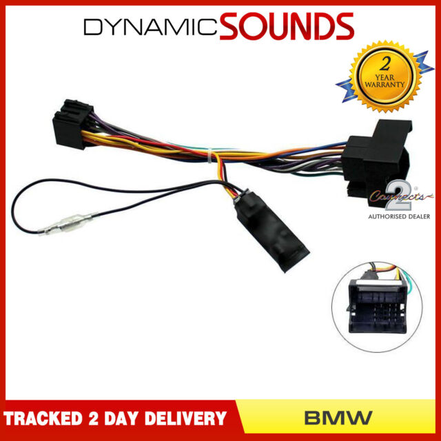 Car Stereo Wiring Iso Adaptor With Ignition Generator Fit Bmw 1 Series E81 E82 For Sale Online Ebay