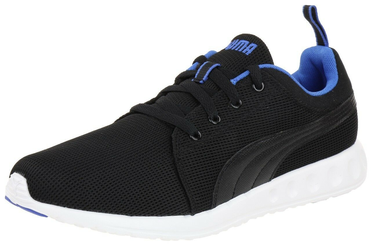 PUMA ADULTS LOW zapatillas MEN zapatos negro blanco azul 357482-04 Talla 13 NEW