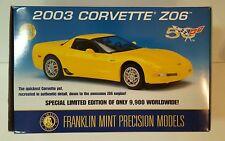 Franklin Mint - 2003 Corvette Z06 Hardtop - Limited Edition - 50th Anniversary