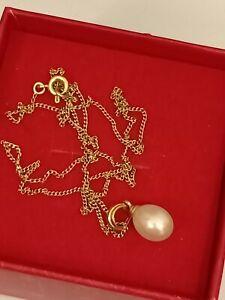 Collier or 18 carats Et Pendentif