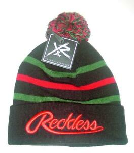 d1ff5f369 Details about New Licensed Young & Reckless Y&R Cuffed POM Beanie Hat Last  Ones! __B124