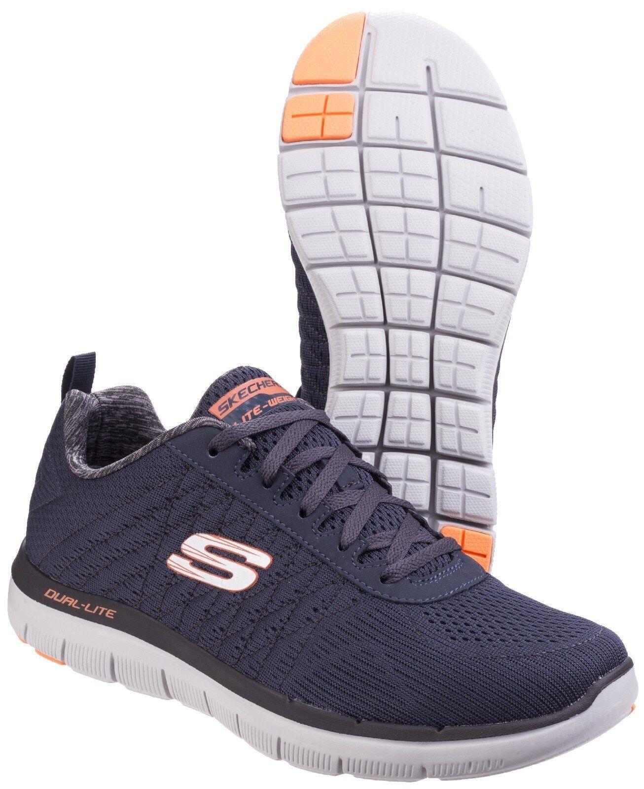 Skechers Flex Advantage 2.0 il happs Memory Memory Memory Foam Sportive Scarpe da Ginnastica Uomo UK6-12 608dae
