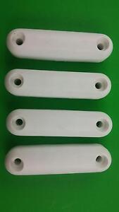 Weekend-Warrior-Toy-Hauler-Ramp-Door-White-Plastic-Bumper-Stop-4-Pack401899-PWY