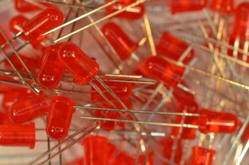 100 LEDs 5mm rouges 4203DG LITEON