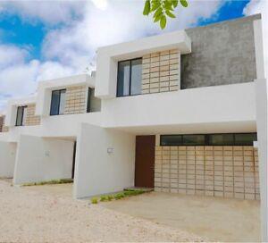 Pre venta de casa de dos recamaras en Dzitya 7
