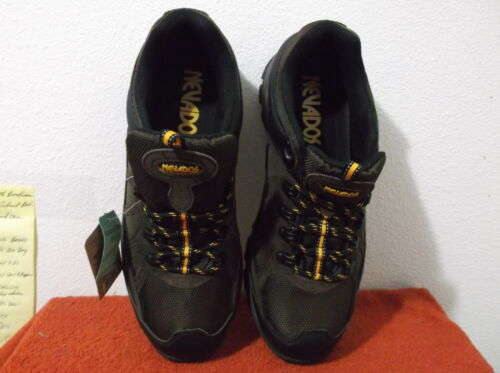 BRAND NEW MEN/'S NEVADOS BROWN  SUEDE LOW HIKER  SHOES