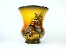 Große Keramik Vase um 1950 Schramberger Majolikafabrik Schramberg SMF B-128