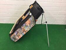 RARE Vintage PING GOLF Lightweight STAND BAG PLAID Design CLEAN Sunday CARRY HTF
