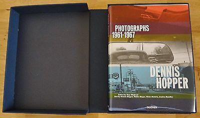 SIGNED - DENNIS HOPPER - PHOTOGRAPHS 1961-1967 LTD 1/1500 - W/SHIPPING BOX NICE!