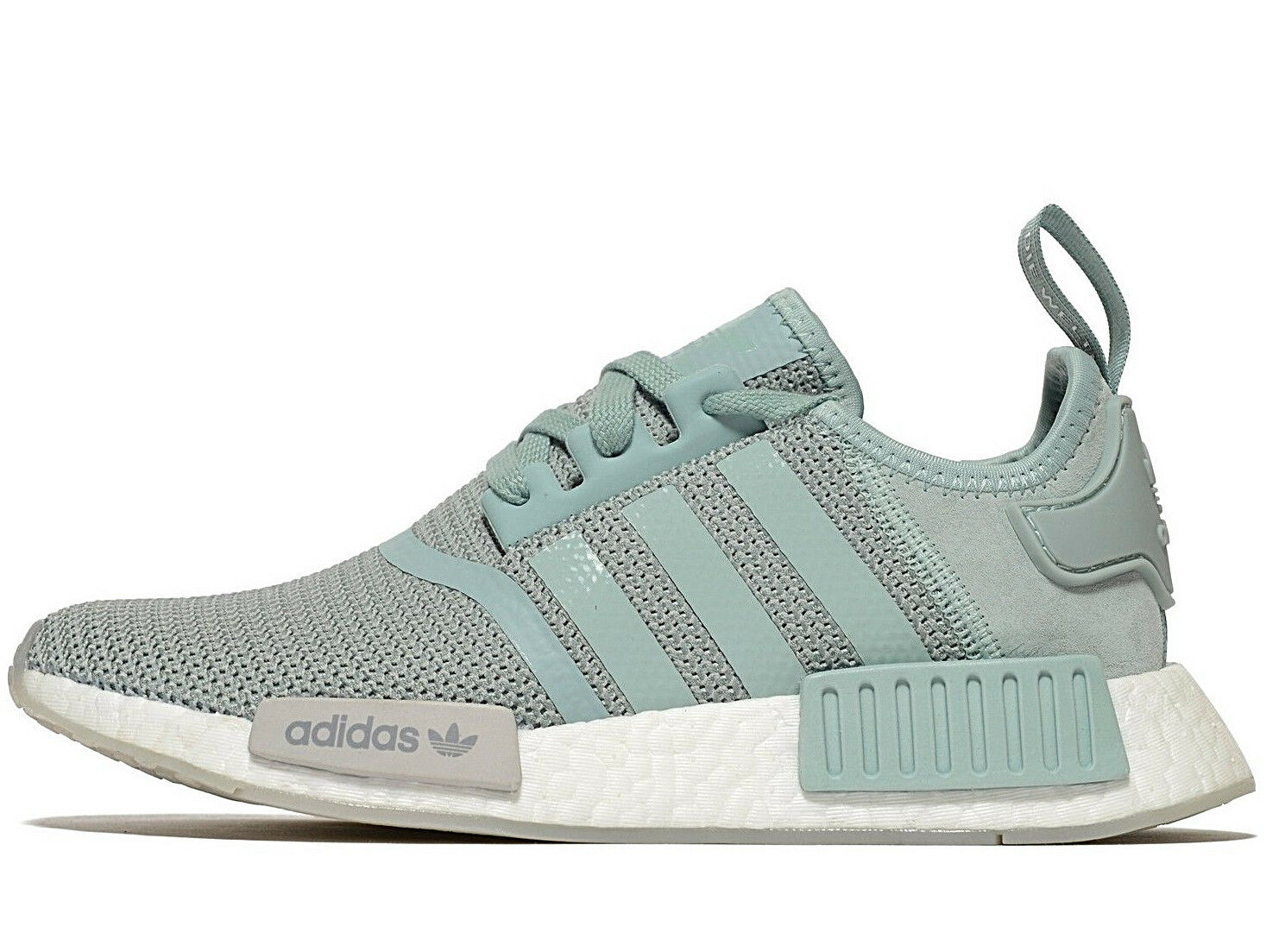 Latest Adidas Originals NMD R1 ® (Größe UK  7 EU 40.5) Teal Grün   grau   Weiß