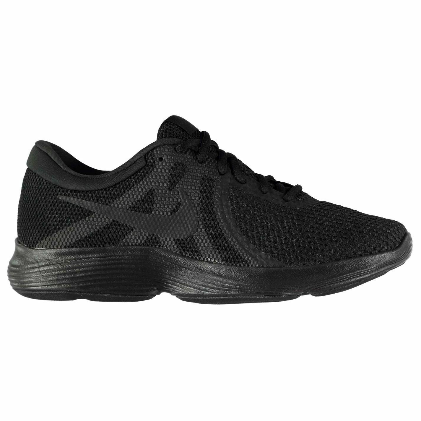 Nike Revolution 4 Trainers Mens Black Athletic Sneakers shoes