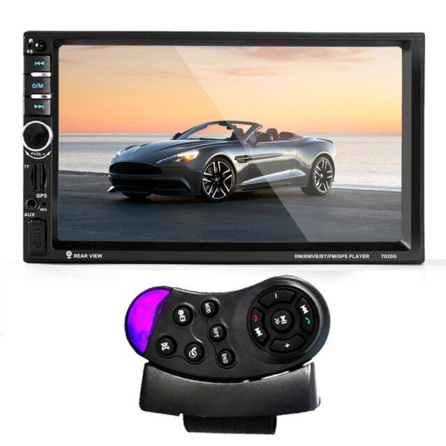 7'' Car CD Stereo Receiver Bluetooth MP3 Radio AUX/Pandora Player GPS Navigation
