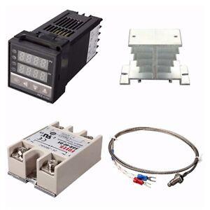 Controlador-Digital-de-Temperatura-PID-REX-C100-de-220-V-40-a-MaX-SSR-N4V8