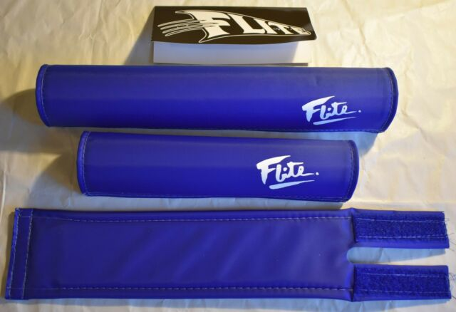 Blank Blue BMX Pad Set