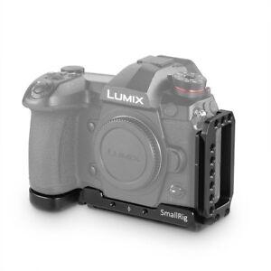 Rilascio-rapido-Fotocamera-SmallRig-L-Staffa-per-Panasonic-Lumix-G9-con-Arca-piastra-2191-SM