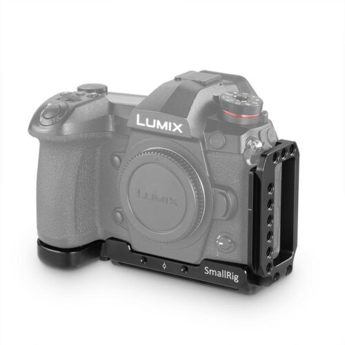 2191 Cg SmallRig cámara de liberación rápida L-Soporte para Panasonic Lumix G9 con Arca Placa