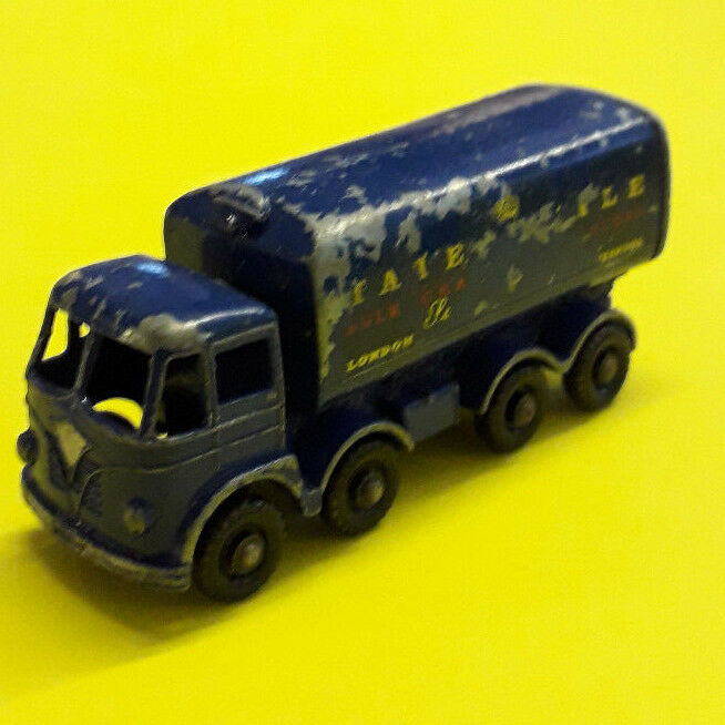 MATCHBOX LESNEY FODEN 8 roues TATE AND LYLE SUGAR TANKER Nº 10 C