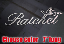 Ratchet Banner 7 inch Decal Sticker Vinyl JDM KEN BLOCK DRIFT HOON STANCE JDM
