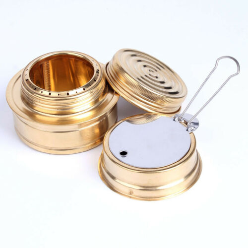 Mini Alcohol Stove Burner Survival Hiking Camping Travel Backpacking Ultra Light