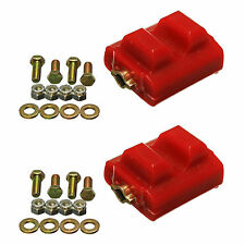 98-02 LS1 Camaro Firebird Trans Am Polyurethane Engine Motor Mount Inserts RED